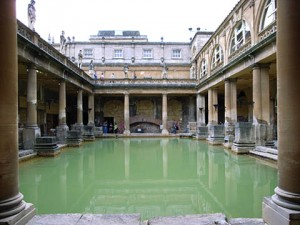 Roman spas at Bath
